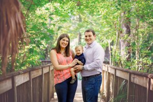 Isaac Greenberg with his wife, Felicia, and son, Noah. (Photo courtesy of Isaac Greenberg)