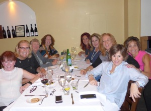 Tucson women at the International Lion of Judah Conference in Washington, D.C. on Sept. 12, (L-R): Ellyn Gold, Shelly Silverman, Phyllis Maizlish, Leslie Glaze, Karen Katz, Judy Berman, Jody Gross, Melissa Goldfinger and Fran Katz (Courtesy Jewish Federation of Southern Arizona)